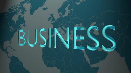 neon business word