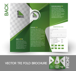 Tri-Fold Golf Tournament & Brochure Design