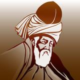 Mevlana  Celaleddin-i   Rumi (renkli) poster
