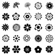 flower vector set - 60121662