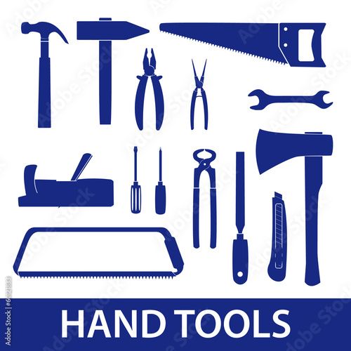 hand tools icon set eps10