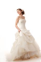 Gourgeus classical bride