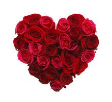 "Постер, картина, фотообои ""Heart of Roses"""