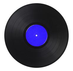 Vinyl Record Blue