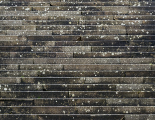 Stone stairs detail