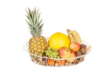 Gitterkorb Obst