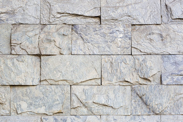 Texture di mattoni di marmo