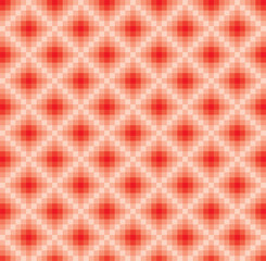 vector abstract red tints mosaic pattern