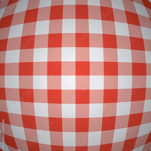 vector 3d red picnic tablecloth background