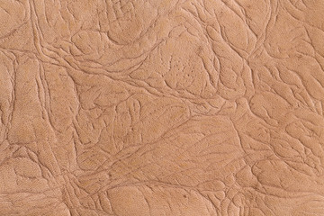 Brown seamless natural leather texture