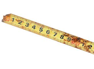 Rusty Tape Measure.
