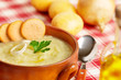 fresh potato soup