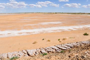 Oodnadatta Track near Lake Eyre South (Australia)
