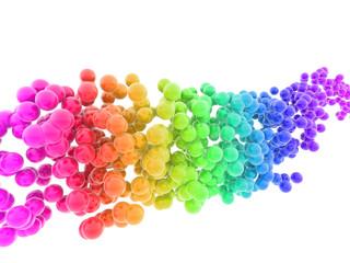 colorful bubbles © Paulista