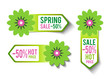 Spring Sales Labels