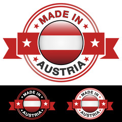 Made In Austria Badge
