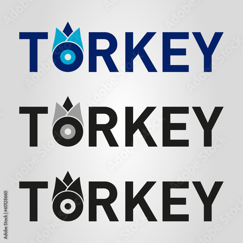 turkey evil eye logo