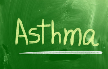 Asthma Concept