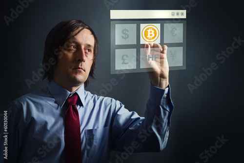 Choosing bitcoins as currency