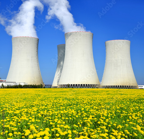 Nuclear power plant Temelin in Czech Republic