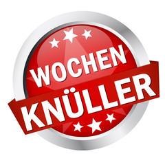 """Button mit Banner """" WOCHENKNÜLLER """""""
