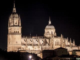 Catedrales de Salamanca Nocturna