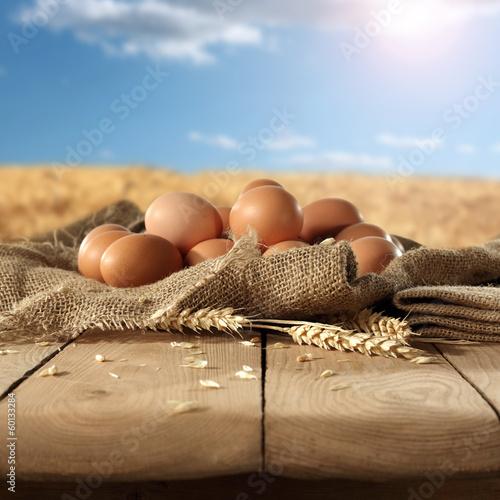 Leinwanddruck Bild egg