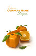 Fresh cubic orange composition