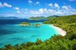 Leinwanddruck Bild - Trunk Bay, St. John, United State Virgin Islands
