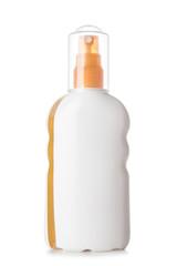 Plastic Bottle On White Background Isolated