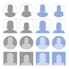 Female profile icons