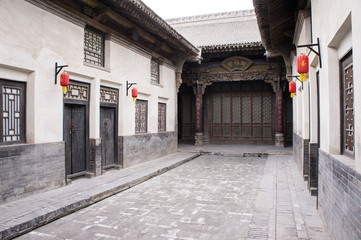Chinese ancient house building