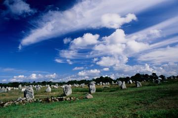 allineamenti neolitici insediamento storico bretagna francia
