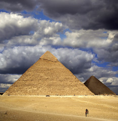 Pyramids of Giza, Egypt, UNESCO World Heritage Site