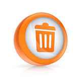 Trash can icon.