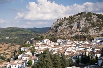 Views of Grazalema, Cadiz, Spain