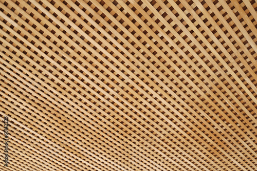 background of wooden lath