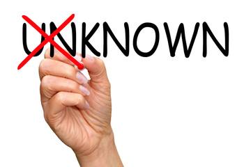 Known instead unknown