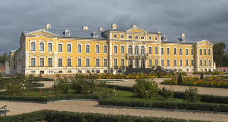 Governmental historical museum of Rundale palace, Latvia