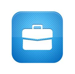 Briefcase  - blue web button