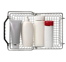 Generic goods in shopping basket