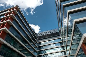 Shot of modern building