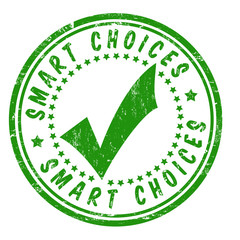 Smart choices stamp