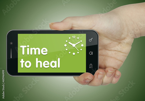 Time to heal. Phone
