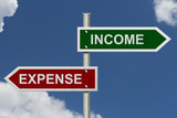 Income versus Expense