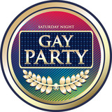 Gay Party Label