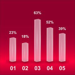 histogramm infographic