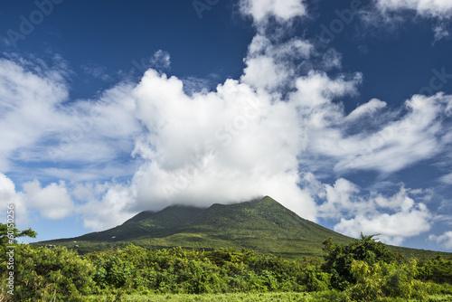 Nevis Peak, A Volcano in the Caribbean - 60150256