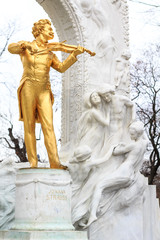 Statue of Johann Strauss, Vienna