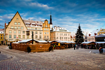 Christmas fair  in Tallinn